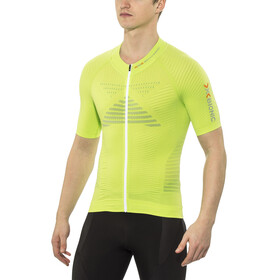 X-Bionic Effektor Power Biking Shirt SS Full Zip Men Green Lime/Pearl Grey